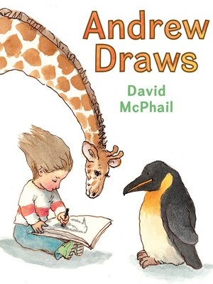 cover image of Andrew Draws
