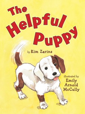 cover image of The Helpful Puppy