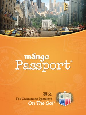 cover image of English for Cantonese Chinese Speakers On The Go