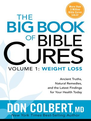 cover image of The Big Book of Bible Cures, Volume 1