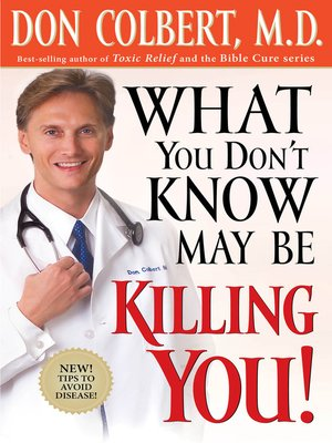 cover image of What You Don't Know May Be Killing You
