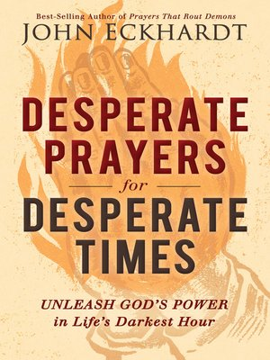 cover image of Desperate Prayers for Desperate Times