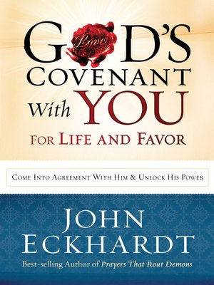 cover image of God's Covenant with You for Life and Favor