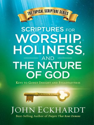 cover image of Scriptures for Worship, Holiness, and the Nature of God