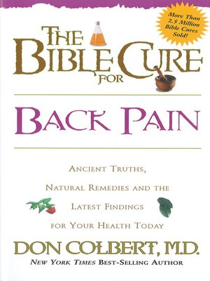 cover image of The Bible Cure for Back Pain