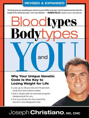 cover image of Bloodtypes, Bodytypes, and You