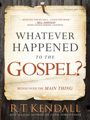 cover image of Whatever Happened to the Gospel?