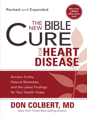 cover image of The New Bible Cure for Heart Disease