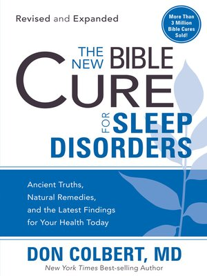 cover image of The New Bible Cure for Sleep Disorders