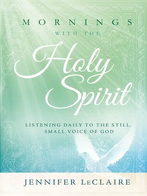 cover image of Mornings With the Holy Spirit