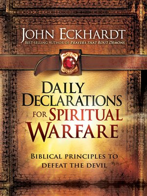 cover image of Daily Declarations for Spiritual Warfare