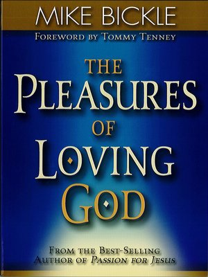 cover image of The Pleasure of Loving God