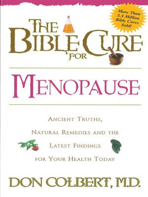 cover image of The Bible Cure for Menopause