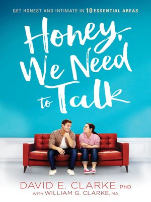 cover image of Honey, We Need to Talk