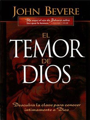 cover image of El Temor de Dios