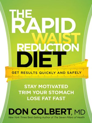 cover image of The Rapid Waist Reduction Diet