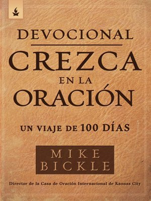 cover image of Devocional crezca en la oración / Growing in Prayer Devotional