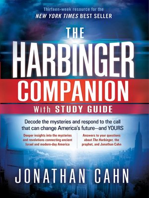 cover image of The Harbinger Companion with Study Guide