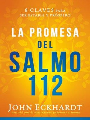 cover image of La promesa del Salmo 112 / the Psalm 112 Promise