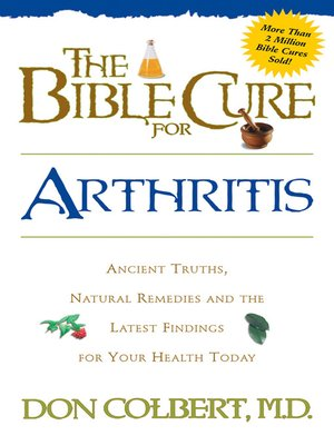 cover image of The Bible Cure for Arthritis