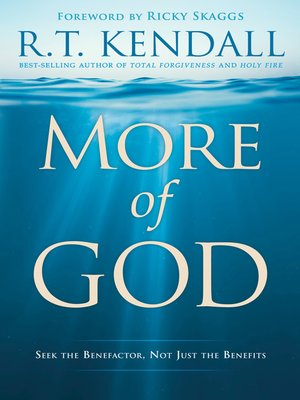 cover image of More of God