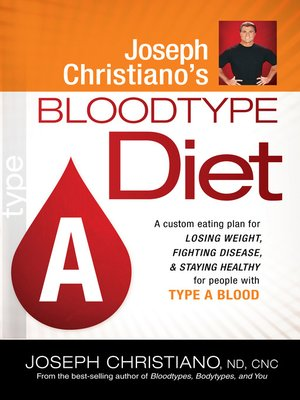 cover image of Joseph Christiano's Bloodtype Diet A