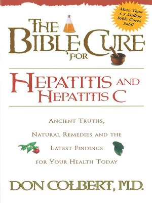 cover image of The Bible Cure for Hepatitis C