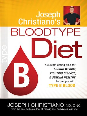 cover image of Joseph Christiano's Bloodtype Diet B