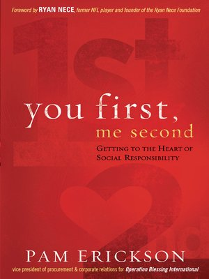 cover image of You First, Me Second