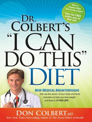 cover image of I Can Do This Diet