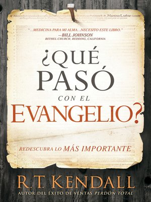 cover image of ¿Qué pasó con el Evangelio? / Whatever Happened to the Gospel?