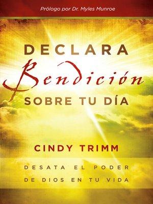 cover image of Declara bendición sobre tu día