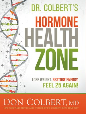 cover image of Dr. Colbert's Hormone Health Zone