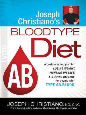 cover image of Joseph Christiano's Bloodtype Diet AB