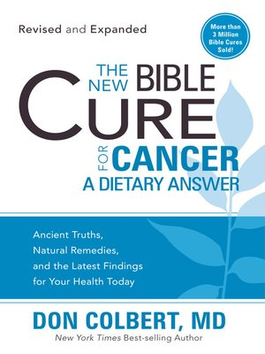 cover image of The New Bible Cure for Cancer