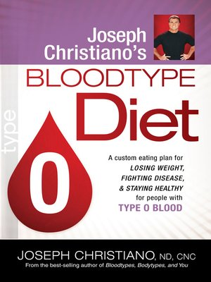 cover image of Joseph Christiano's Bloodtype Diet O