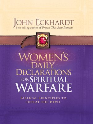 cover image of Women's Daily Declarations for Spiritual Warfare