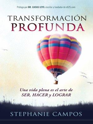 cover image of Transformación profunda/Deep transformation
