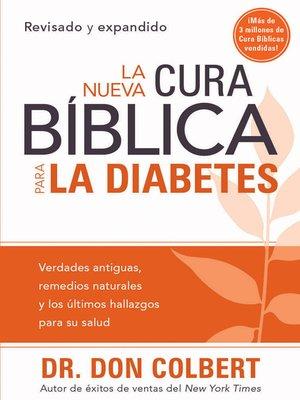 cover image of La Nueva cura bíblica para la diabetes