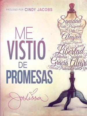 cover image of Me vistió de promesas