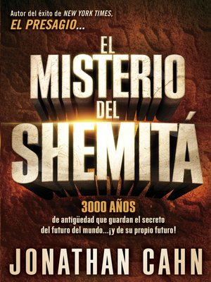 cover image of El misterio del Shemitá