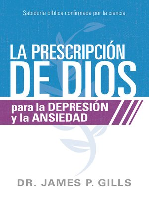 cover image of La prescripción de Dios para la depresión y la ansiedad / God's Rx for Depression and Anxiety