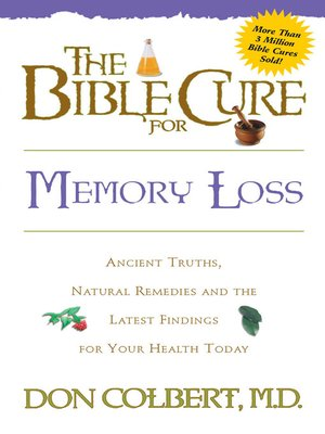 cover image of The Bible Cure for Memory Loss