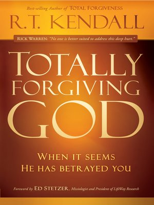 cover image of Totally Forgiving God