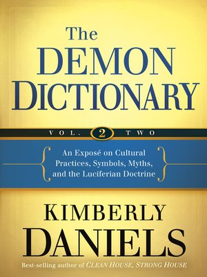 cover image of The Demon Dictionary Volume 2