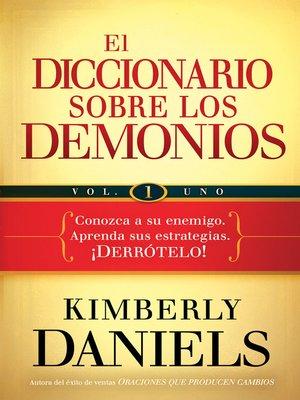 cover image of El diccionario sobre los demonios, Volume 1