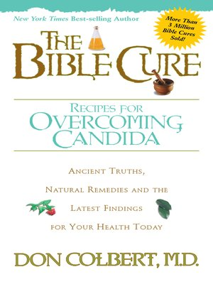 cover image of The Bible Cure Recipes for Overcoming Candida