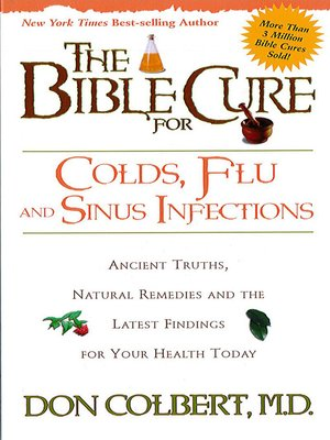 cover image of The Bible Cure for Colds and Flu