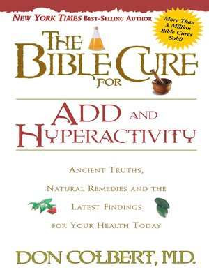 cover image of The Bible Cure for ADD and Hyperactivity