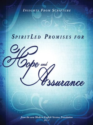 cover image of SpiritLed Promises for Hope and Assurance